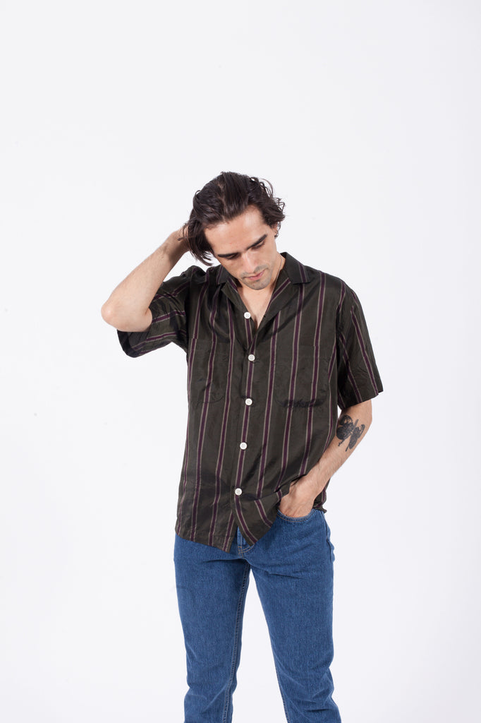 Camp Collar Short Sleeve Shirt | SECOND/LAYER | ACE/FIVE