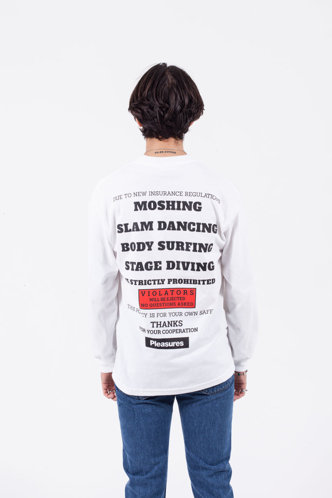 'GUIDELINES' Long Sleeve Shirt | PLEASURES | ACE/FIVE