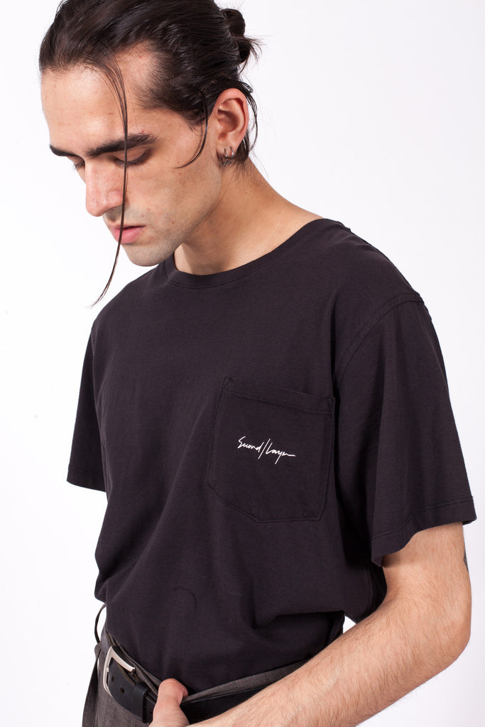 Logo Tee | SECOND/LAYER | ACE/FIVE