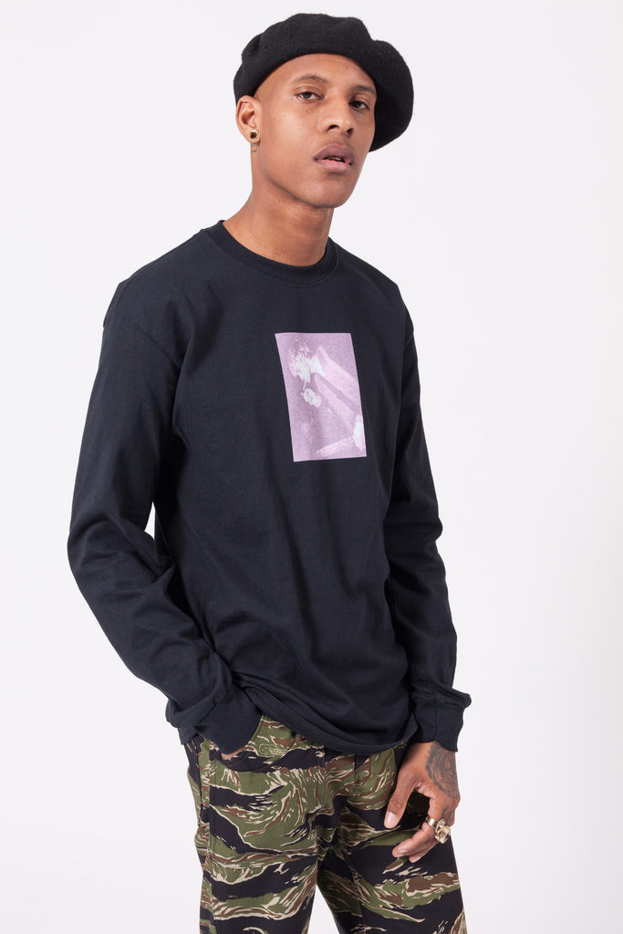 Packin Smokin Long Sleeve Nirvana T-Shirt | MN07 | ACE/FIVE