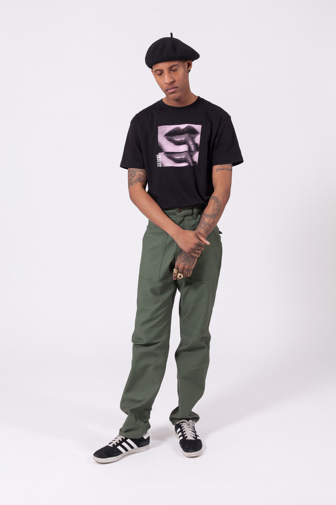 Sateen Taper Four Pocket Fatigue Pants - Olive | Stan Ray | ACE/FIVE