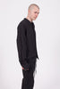 Frit Woven Shirt - Black Stripe | Chapter | ACE/FIVE