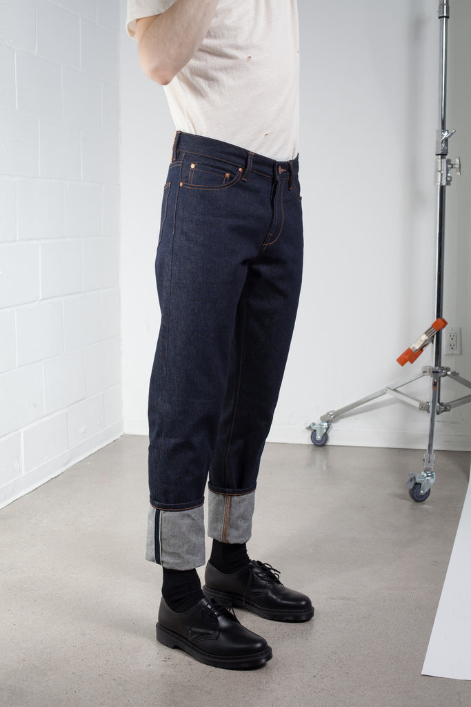 Han Kjobenhavn Dark Blue Raw Denim SS16 | ACE/FIVE