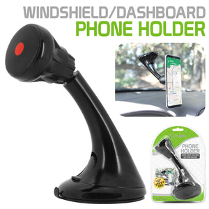 Cellet Universal Extra Strength Suction Cup Windshield/Dashboard Mount Phone Holder