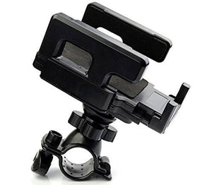 Alcatel Lume Black Cell Phone Bicycle Holder for Handle Bars - Cell-stuff