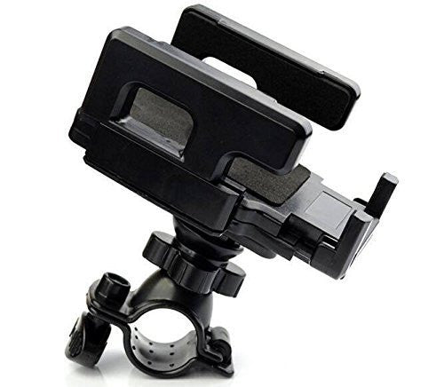 ZTE Grand X 4 Black Cell Phone Bicycle Holder for Handle Bars - Cell-stuff