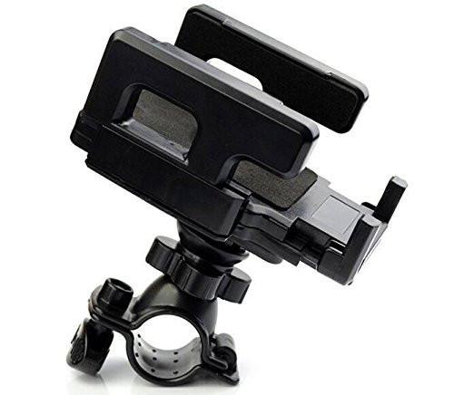 Orbic Wonder Black Cell Phone Bicycle Holder for Handle Bars