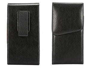 Vertical Smooth Leather Case