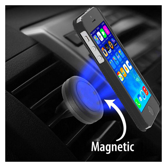 AA - Compact Cell-Stuff Universal Magnet Car Air Vent Phone Holder for Cell Phones