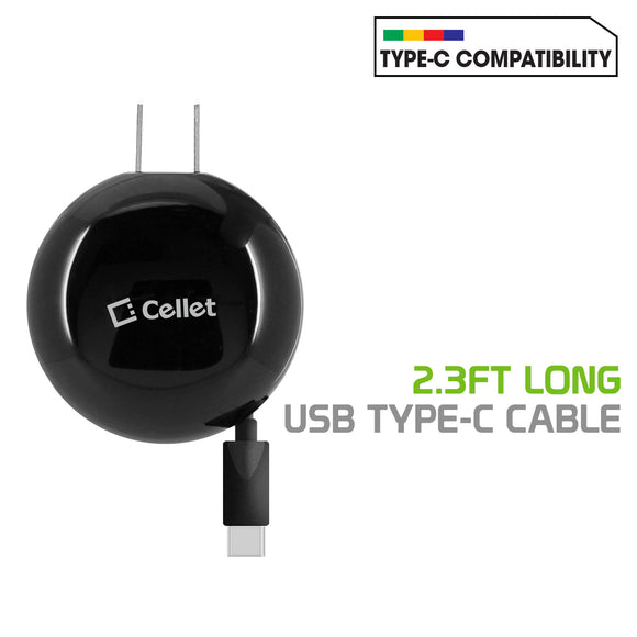 Cellet Retractable Wall Charger