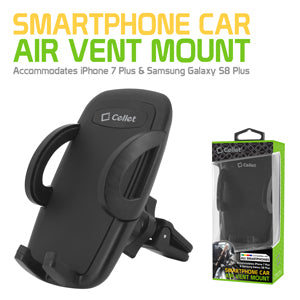 "LG ""Rebel 2"" Cellet Full Cradle Air Vent Car Mount For Smartphones up to 3.5 inches Wide"