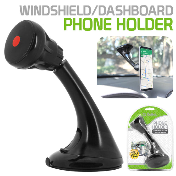 AA- Cellet Universal Extra Strength Suction Cup Windshield/Dashboard Mount Phone Holder