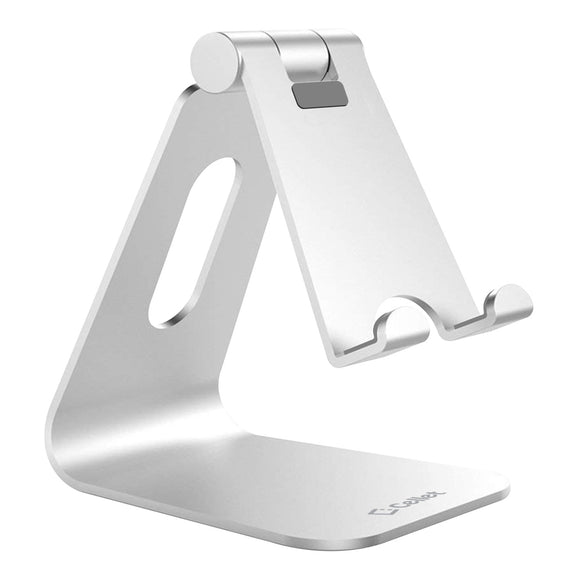 AA - Cellet Silver Universal Aluminum Heavy Duty Desk Table Stand