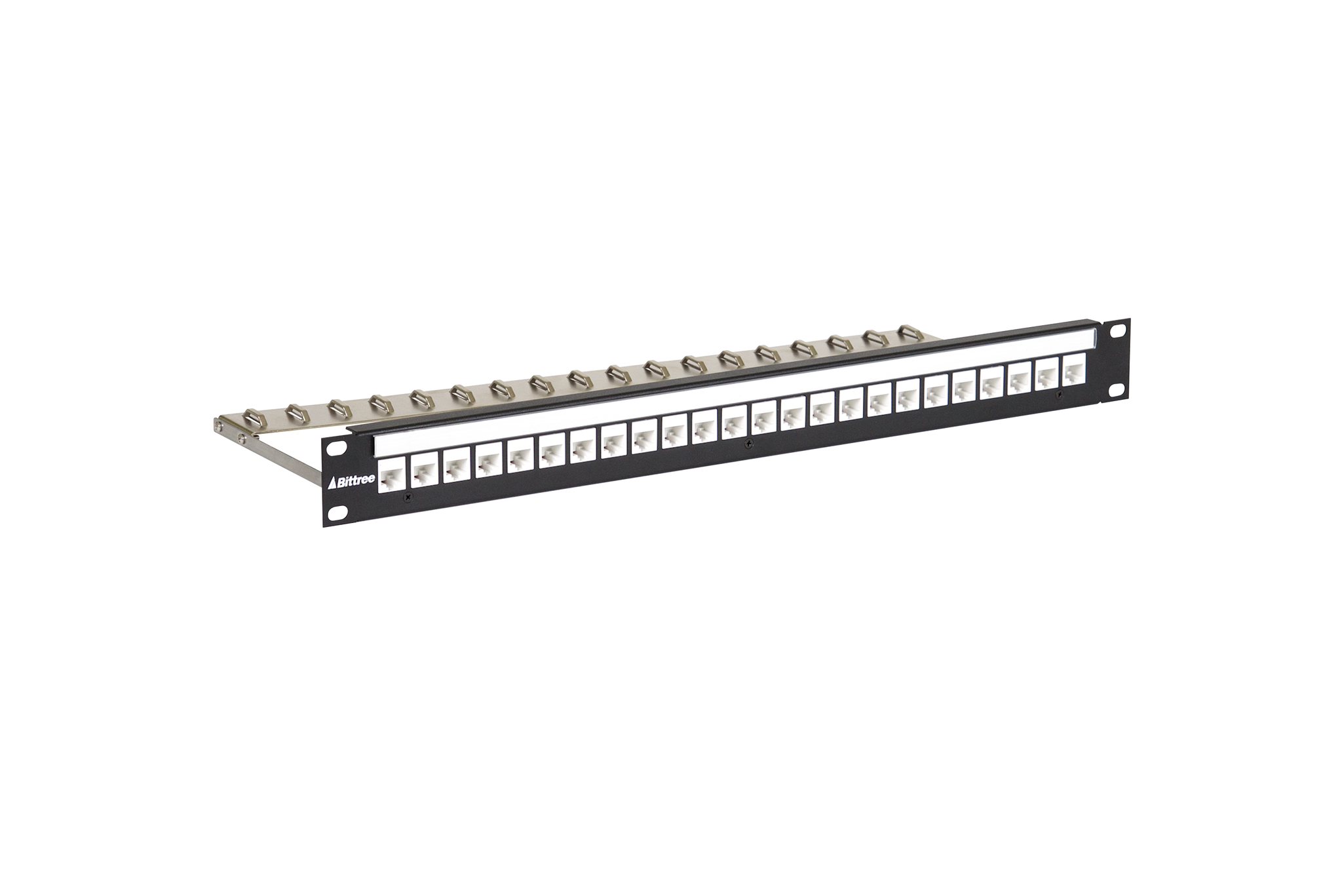 ... Flush-Mount Modular Keystone Panel, CAT 6, 110 Punchdown, Unshielded,  1x24 ...
