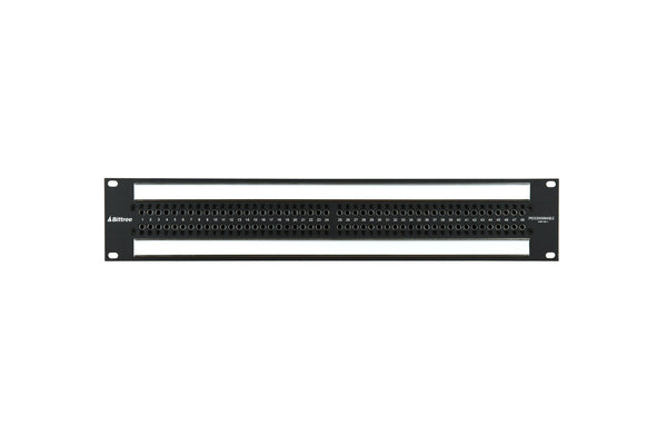 969a - 2x48 2RU TT Patchbay, Front Selectable TRS Audio