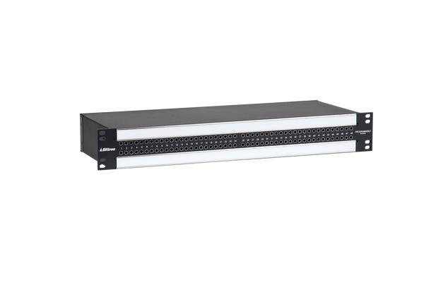 968s - 2x48 1.5RU TT Patchbay, Internally Selectable TRS Audio