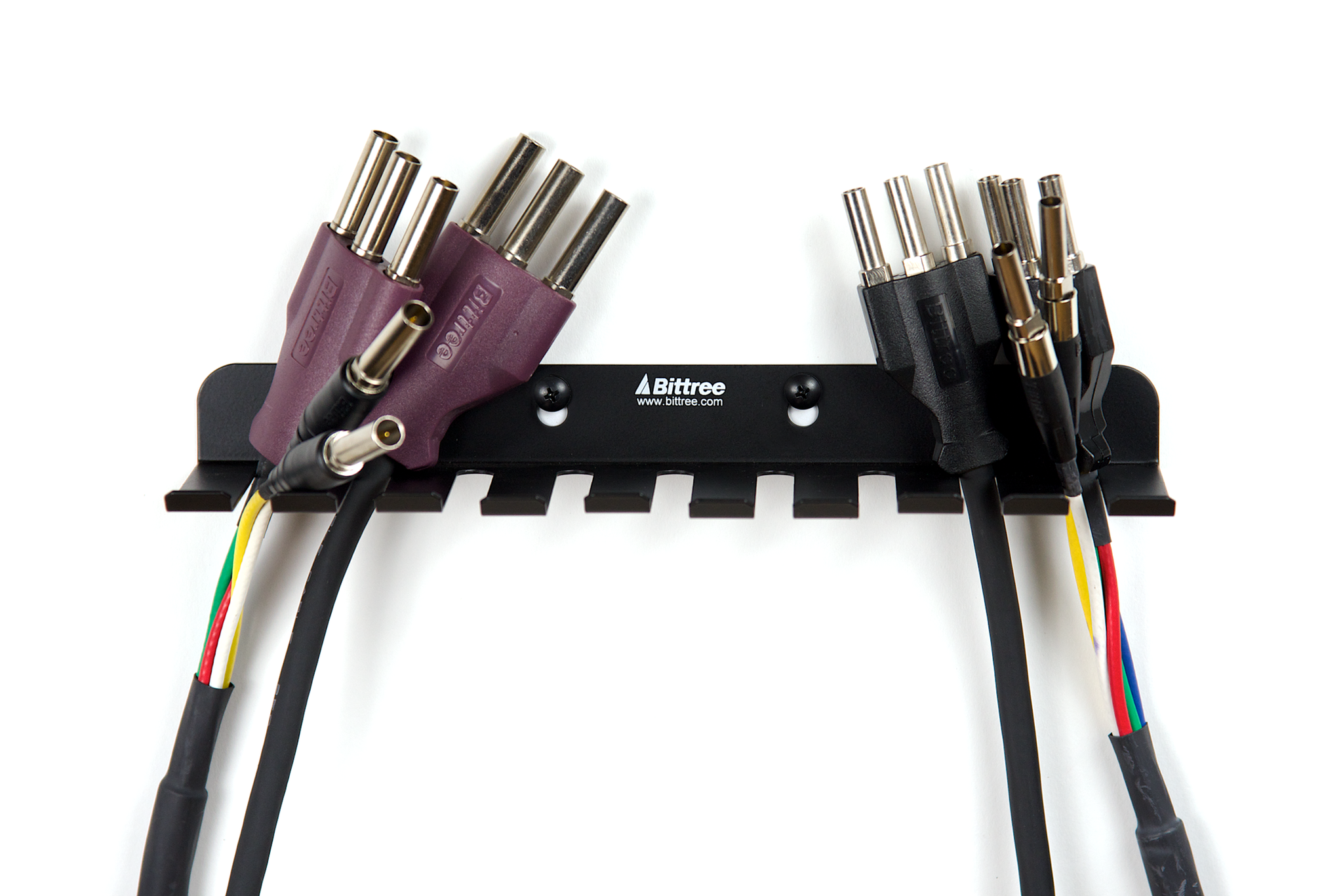 patch cable holder