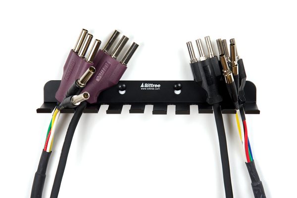 Component Video Patch Cable Holder