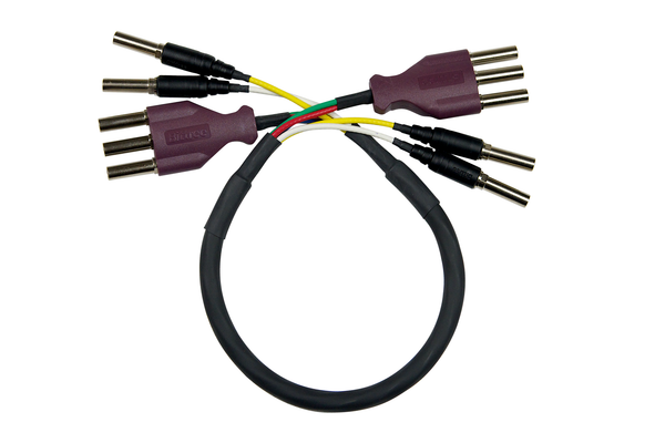 Standard WECO 75 ohm Component 5-Wire Video Patch Cables