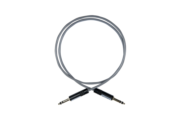 1/4 Inch (Long Frame), Three Conductor T/R/S, 18 AWG, Audio Patch Cables