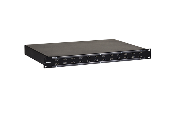 Internally Programmable RS-422 Patchbay, 2x12, 1 RU, DE-9 Rear Interface
