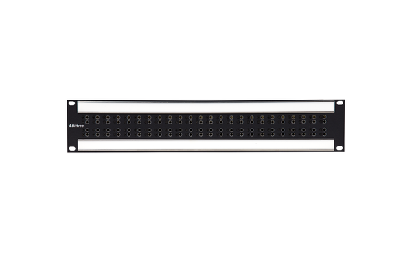 Internally Programmable RS-422 Patchbay, 2x24, 2 RU, DE-9 Rear Interface