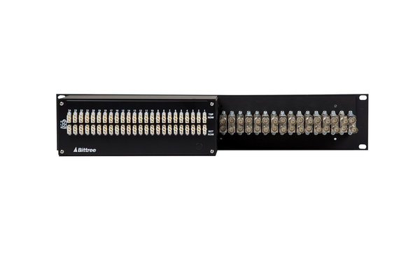 Integrated (IPS) Audio and Video Patchbay, 2 RU, BIPS-74