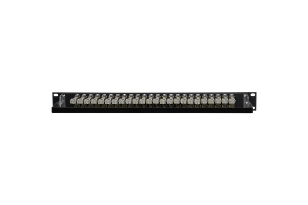 Patchbay - Audio 1/4 Inch Long-Frame Non-Programmable 481 Series Solder Style Patchbay, 2x24, 1RU, Pre-Tinned Jack Tails, 6-Lug