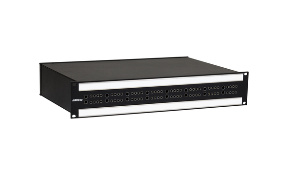 Integrated (IPS) Audio and Video Patchbay, Mini-WECO (Midsize) and TT (Bantam), 2 RU, SBCIPS03
