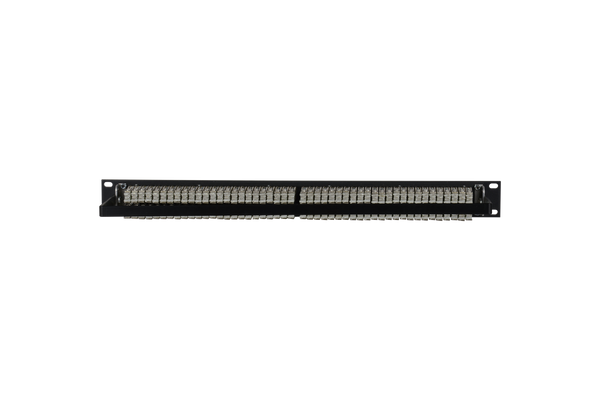 Patchbay - Audio TT (Bantam) Non-Programmable 961 Series Solder Style Patchbay, 2x48, 1RU, Pre-Tinned Jack Tails, 5-Lug
