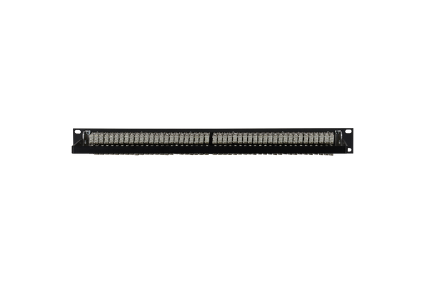 Patchbay - Audio TT (Bantam) Non-Programmable 961 Series Solder Style Patchbay, 2x48, 1RU, Pre-Tinned Jack Tails, 6-Lug