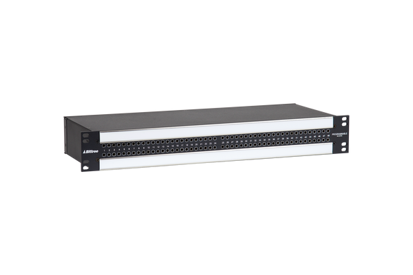 968 - 2x48 1.5RU TT Patchbay, Internally Selectable TRS Audio