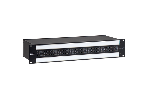 968 - 2x48 2RU TT Patchbay, Internally Selectable TRS Audio