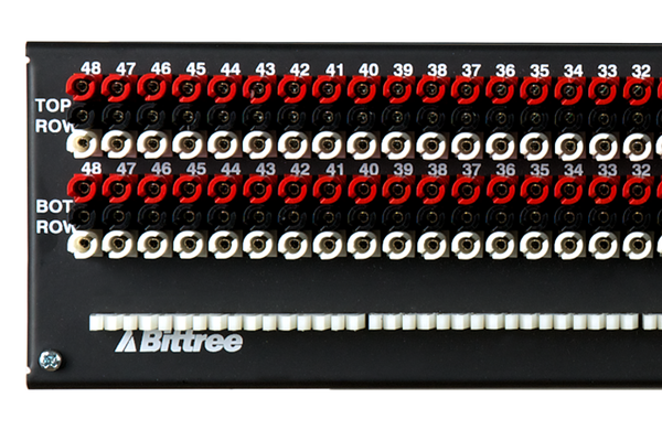 Patchbay - Audio TT (Bantam) Front Programmable Patchbay, 969-A Series, 2x48, 2 RU, ID Rear Interface - 15 Year Anniversary Limited Edition