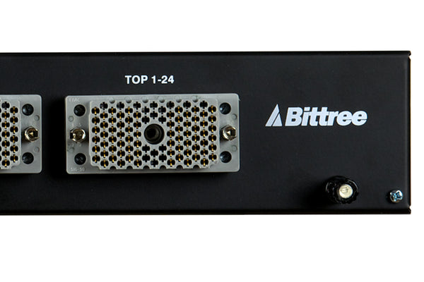 Patchbay - Audio TT (Bantam) Front Programmable Patchbay, 969-A Series, 2x48, 1.5 RU, E90 Rear Interface