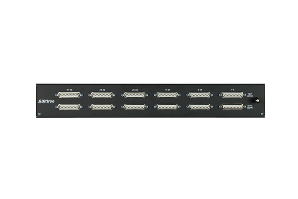PS9625f - 2x48 TT Audio Patchbay, 1.5RU