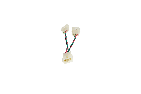 "E3M to (2) E3M 3-Inch (7.62 cm) ""Y"" Cable"