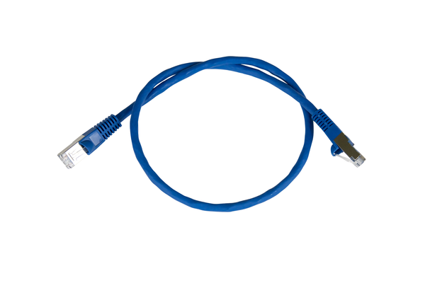 Data Patch Cable, CAT 6, RJ45 (8P8C), Shielded