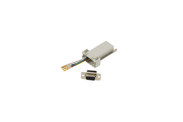 D9 Female to RJ45 Adapter