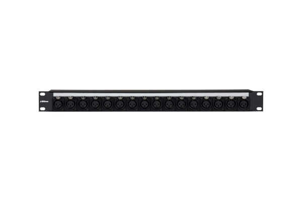 Female XLR to E3 Bulkhead Patch Panel
