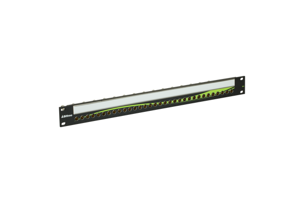 12G+ Mini-WECO (Midsize) Video Patchbay, 1x32, 1 RU