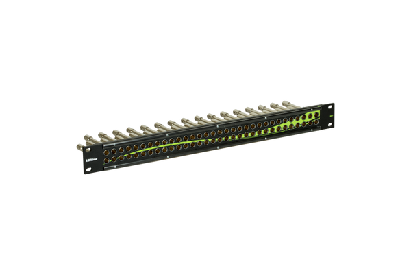 12G+ Mini-WECO (Midsize) Video Patchbay, 2x32, 1 RU