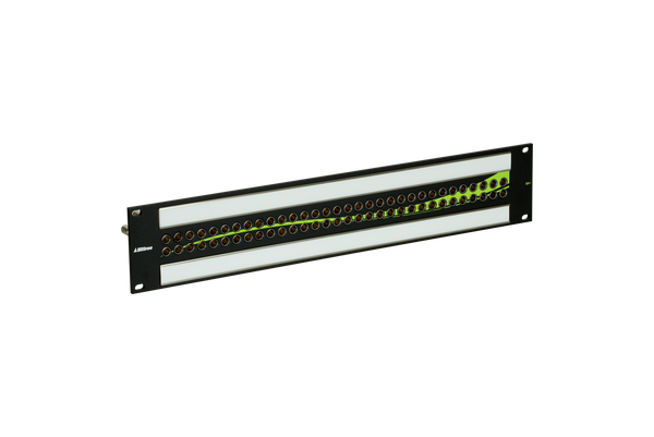 12G+ Mini-WECO (Midsize) Video Patchbay, 2x32, 2 RU
