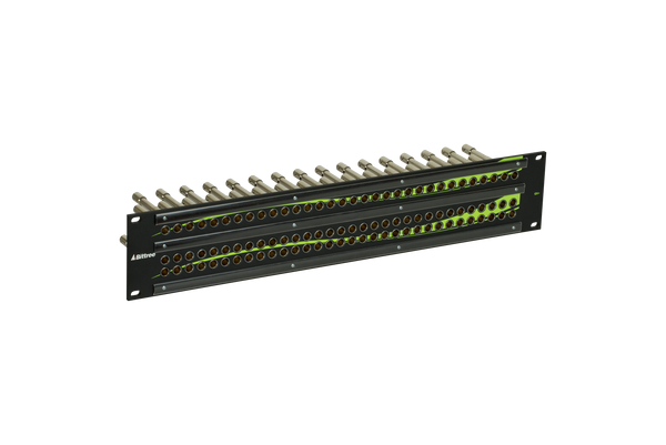 12G+ Mini-WECO (Midsize) Video Patchbay, 3x32, 2 RU