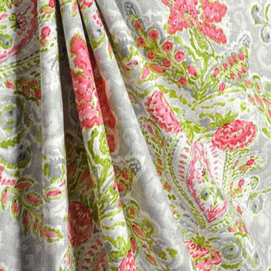 April Showers Fabric By The Yard | 55% Linen, 45% Rayon