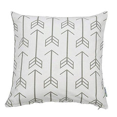 Arrows Throw Pillow Cover-Home-Gray-Bold Bedding
