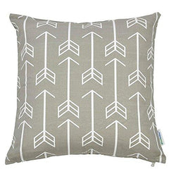 Arrows Throw Pillow Cover-Home-White-Bold Bedding