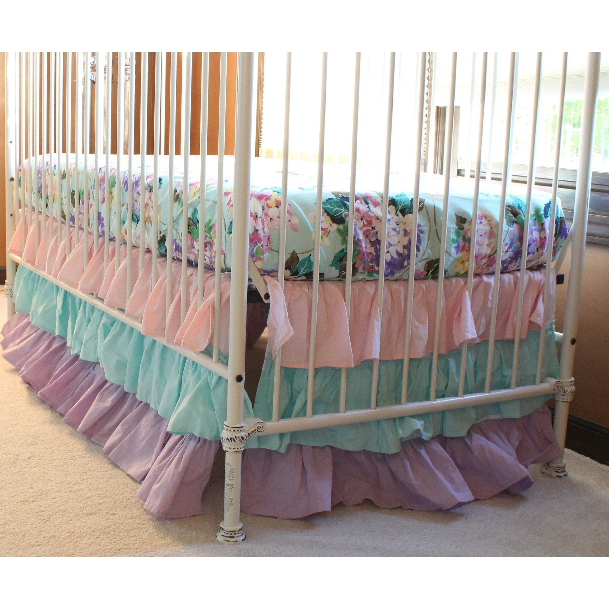 green cordelias boy floral luxury cribs coral blue girl full and size cordelia nursery bumper infant disney crib lavender designs hopes pastel teal skirt baby neutral dreams of setsr sets set bedding sheets pink bold purple