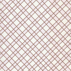 Criss Cross in Pink and Chocolate Fabric by the Yard | 100% Cotton-Fabric-Bold Bedding