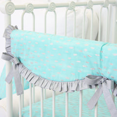 Custom Rail Covers | Custom Crib Rail Guard-Crib Rail Cover-Bold Bedding